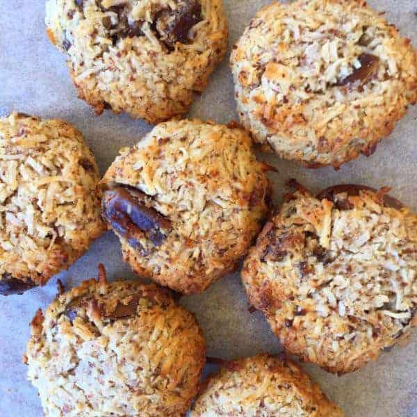 COCONUT & DATE MACAROONS