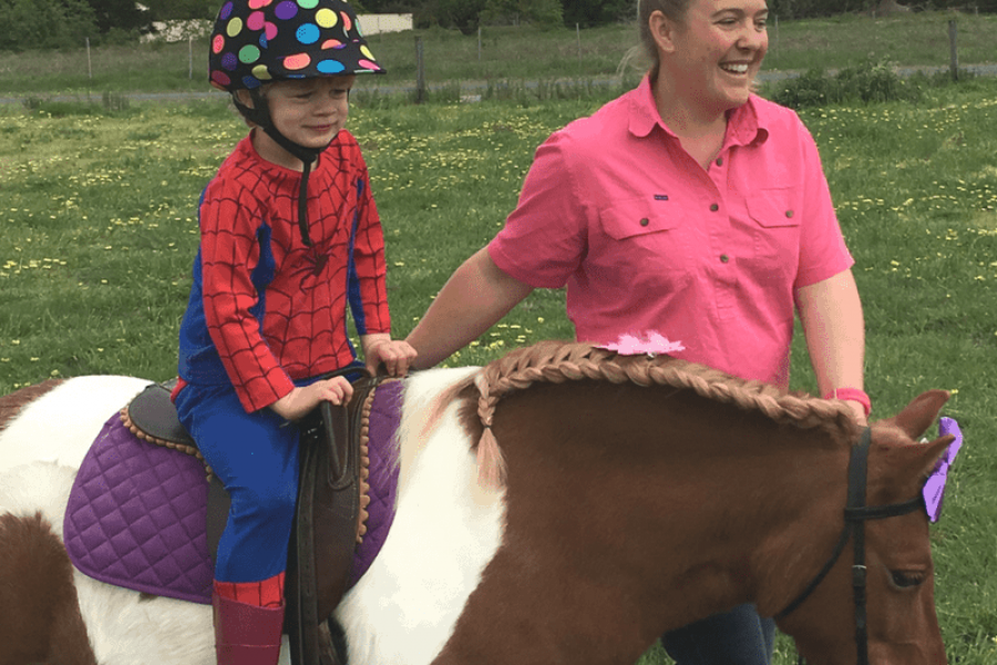 Horse riding autism special needs